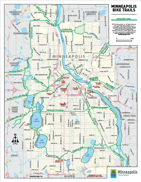 Nokomis Cycle - Trail Maps